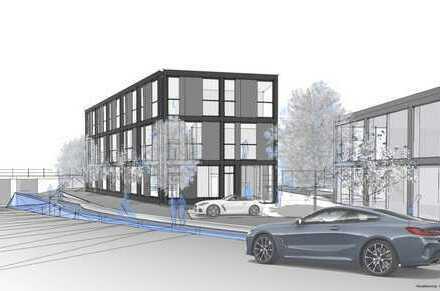 Neubau: Sport- und Bürohaus in 86356 Neusäß, Augsburger Straße