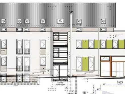 2 Zimmer WHG für 1 Person - Moderner Neubau 2015 stufenloser Zugang KfW 40