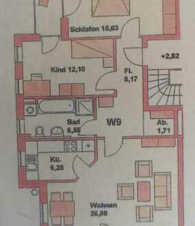 hochwertige und helle 3-Zimmer-Wohnung mit 2 Balkonen in Bestlage von Landshut