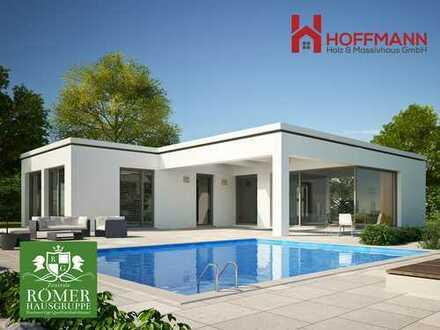 """Top """"Römer""""-Bungalow, KFW40, schlüsselfertig, incl. Traum-Grundstück Einzug in 5 Monaten!!"""