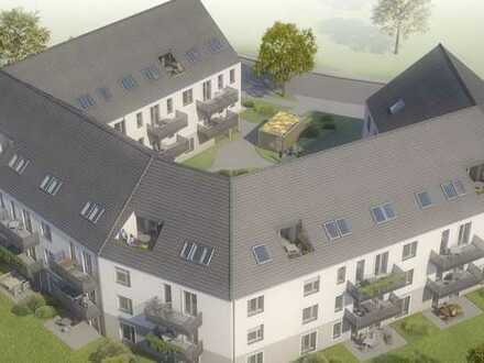 Spektakuläre Dachwohnung mit Loggia im charmanten Neubau, 4 Zimmer, 2 Bäder, grünes Umfeld !!