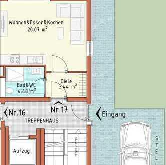 Neubauprojekt Harthausen - Haus 3 - Wohnung 17