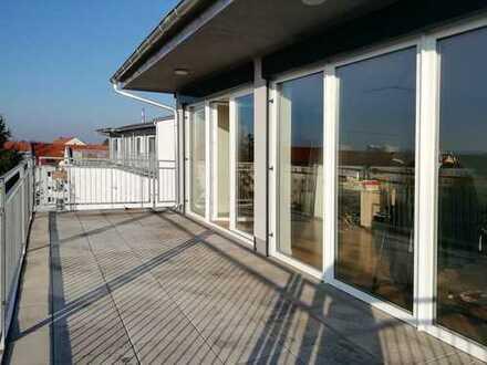 Modernes Apartment   große Dachterrasse mit Weitblick   EBK
