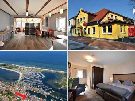 Maritime Kapitalanlage in Heiligenhafen: Hotel Garni, 11 Zimmer + Betreiberwohnung OTTO STÖBEN GmbH