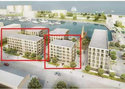 3 MONATE MIETFREI - Erstbezug mit EBK, FBH & Balkon direkt am neuen Hafen