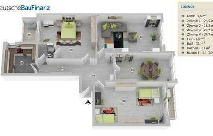 4 Zimmer ETW in Zentraler Lage in Sachsenhausen - Nord