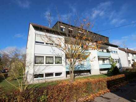 Gepflegte und sonnige 3-Zimmer-Eigentumswohnung mit Garage in Dornstadt