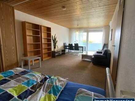 Großzügige 1-Zimmer-Wohnung mit Balkon
