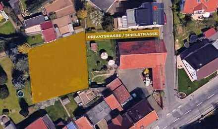 Baugrundstück mit fertiggestellter Projektierung und Baugenehmigung in Hanau-Mittelbuchen