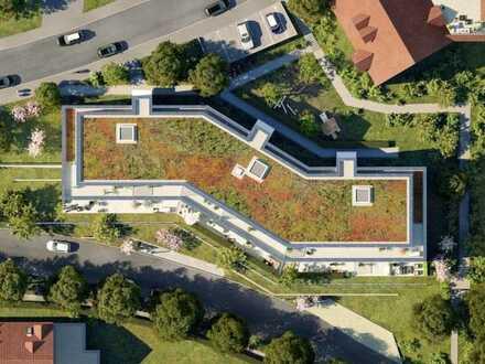Offene 3-Zimmer-Wohnung mit Terrasse und kleinem Garten - WE202