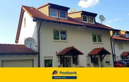 *Tolle Doppelhaushälfte in Sickenhofen mit Garten und Garage!*