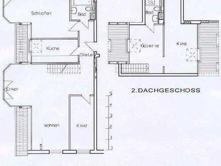 schöne 4 Zimmer Maisonettewohnung mit Fussbodenheizung