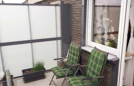 Attraktive Eigentumswohnung, mit großem Balkon und Garage in Voerde-Spellen