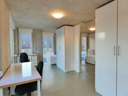 Luxuswohnheim in KA-Grötzingen! Möbliertes 1-Zimmer Apartment mit eigenem Badezimmer