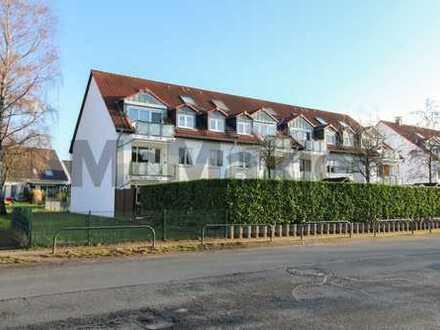 Schöne Erdgeschosswohnung mit Terrasse und großem Garten in attraktiver Lage