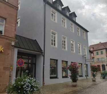 Zentrale Fläche für EINZELHANDEL oder GASTRONOMIE / 230-380 qm teilbar / Innenstadt Schwabach