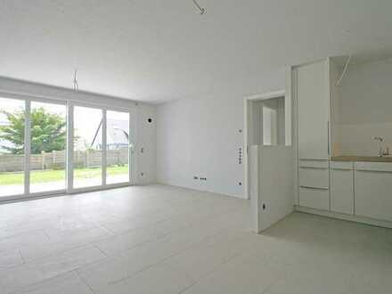 Exklusive 2-Zimmer-Neubau-Wohnung mit Terrasse und Garten