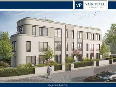 Neubau: Großzügige Stadtvilla mit Garten und Dachterrasse im Diplomatenviertel
