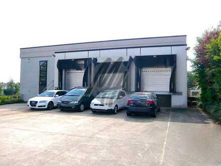 SOFORT VERFÜGBAR ✓ VIELSEITIG NUTZBAR ✓ Lager (1.300 m²) & Büro (100 m²) zu vermieten