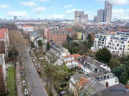 Grüne Oase mitten in der Stadt! Haus mit Sonnengarten. Viel Platz & Flair. In Köln Sülz.
