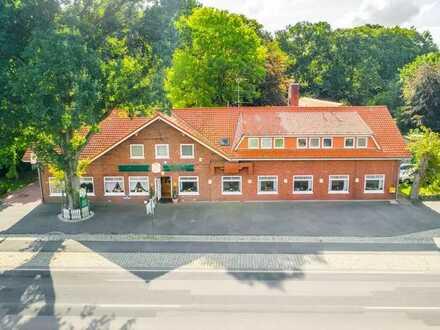 Bremerhaven - Loxstedt - Gasthof mit idyllischem Außenbereich in idealer Lage zu verkaufen