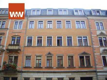 Schöne 3-Raum Familien Wohnung, 2 Balkone, Garten in Johannstadt als Kapitalanlage oder Eigennutzung