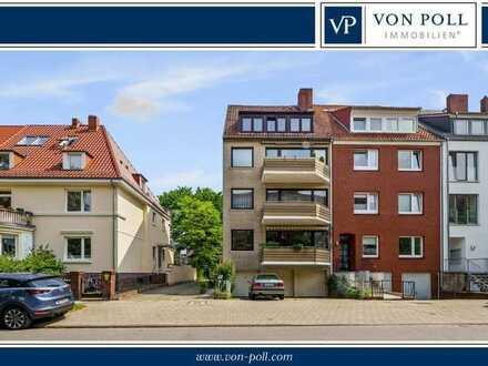 Großzügige Wohnung mit zwei Balkonen im Herzen von Schwachhausen