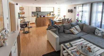 3-Zimmer-Wohnung mit Balkon und Einbauküche im Zentrum Coburgs