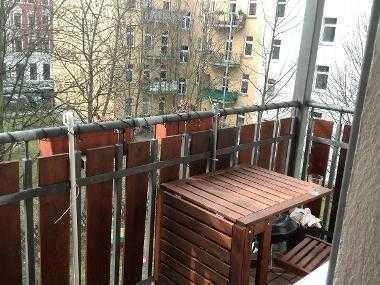 hübsches 10m² Zimmer im Leipziger Osten mit eigenem Zugang zum Balkon