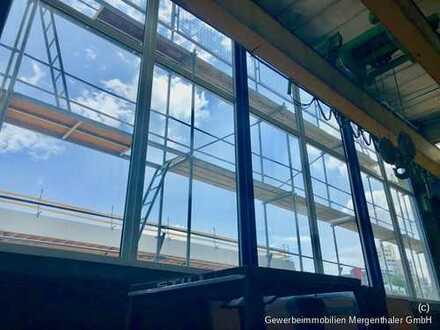 Vermietungsangebot: Stahlbeton-Gewerbehalle an der B 29