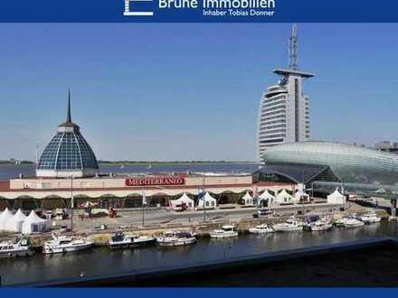 BRUNE IMMOBILIEN - Bremerhaven-Mitte: Allseits Blickfang