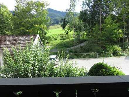 Singlewohnung mit Bergblick