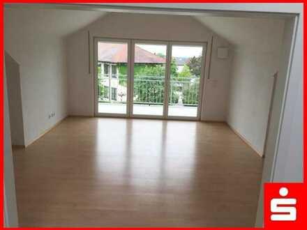 3-Zimmer-Dachgeschosswohnung in Lenting