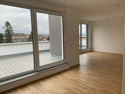 ERSTBEZUG - Penthouse mit 2 Dachterrassen und Blick auf Kauzenburg
