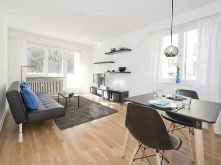 1-Zimmer-Wohlfühl-Apartment mit Balkon in Stuttgart West - voll möbliert -