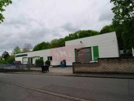 Gewerbegrundstück in Bonn-Beuel mit Produktionsgebäude und Lagerhallen zu verkaufen