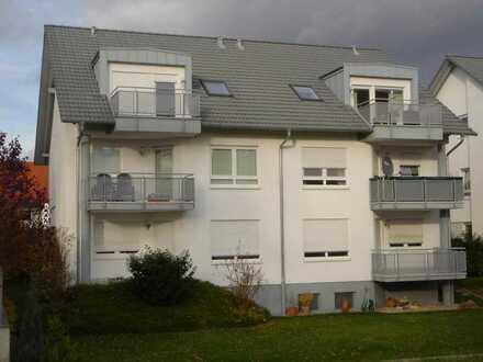 2-Zimmer-Wohnung im DG mit Südbalkon und Gartenblick