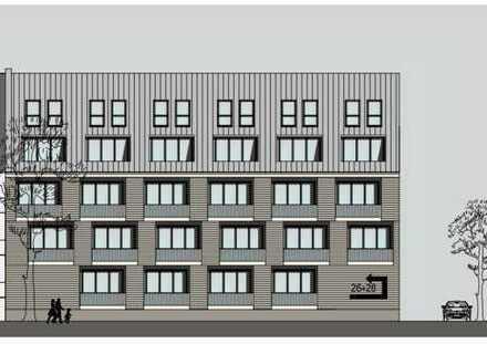 1- Zimmer Wohnung mit Einbauküche, 575 € Kalt