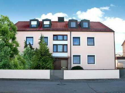 Gut geschnittene Wohnung in ruhigem 6 Parteien Haus ab 01.05. zur Neuvermietung.