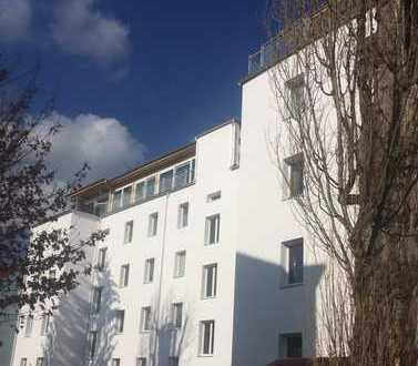Drei Zimmer, Wohnküche, Gäste-WC und großer Balkon - ruhige Lage!
