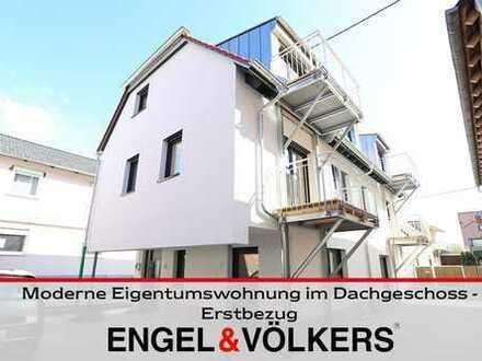 Moderne Eigentumswohnung im Dachgeschoss - Erstbezug