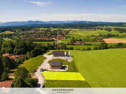 Wunderschön, am Ortsrand gelegenes Baugrundstück mit Bergblick