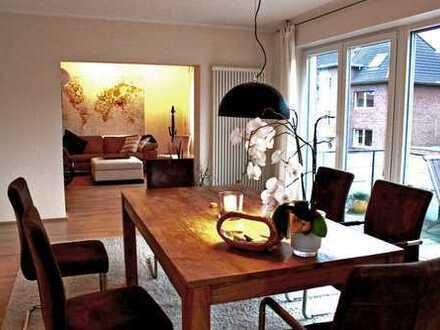 Stilvolle, sanierte 4-Zimmer-Wohnung mit Balkon in Münster