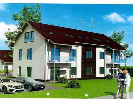 Neubau von 2-Raum-Dachgeschosswohnungen mit schönem Ausblick