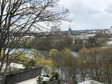 Balkon-Terrassen-Wohnung mit Ruhrblick!