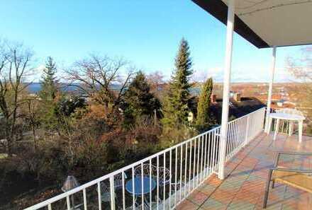 Ammersee: Charmantes Einfamilienhaus mit herrlichen Blick über Herrsching