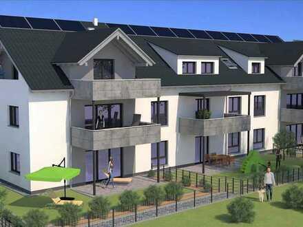 Exklusive **Neubau** 4-Zimmer-Erdgeschosswohnung **traumhafte Wohnlage** Terrasse und Garten