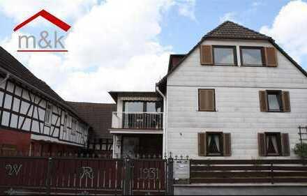 Florstadt-Stammheim: Hofreite für 1-2 Familien mit ausbaufähiger Scheune, Garten