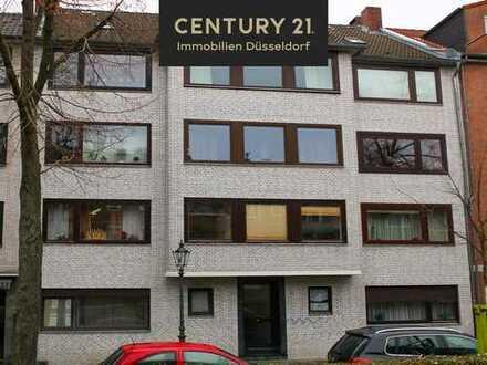 Klein aber Fein! 1Zi.-Wohnung mit Gartenblick in Düsseldorf Unterrath