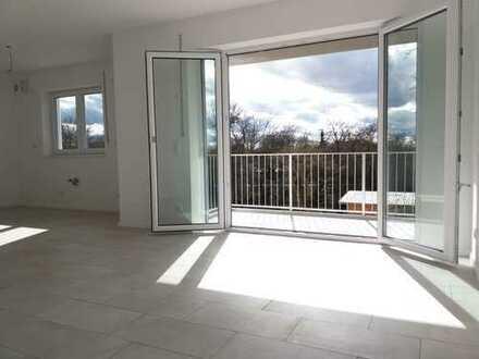 Erstbezug mit Balkon: ansprechende 3-Zimmer-Erdgeschosswohnung in Donaustauf / Sulzbach